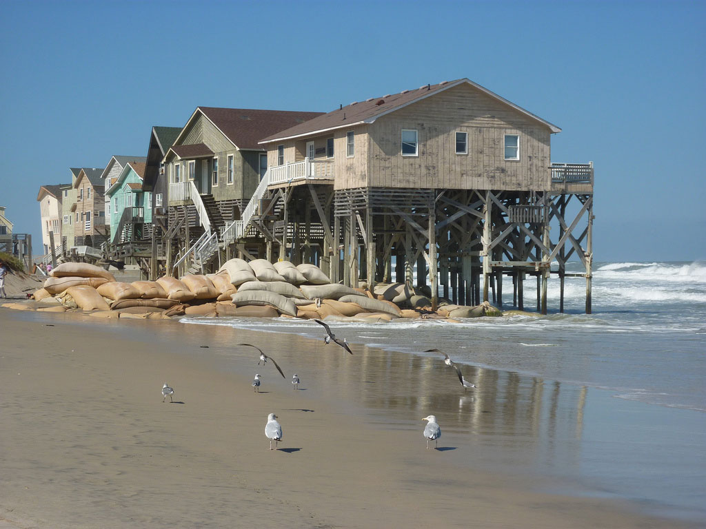 County Declares Six Houses on Buxton Beach Unsafe, NC