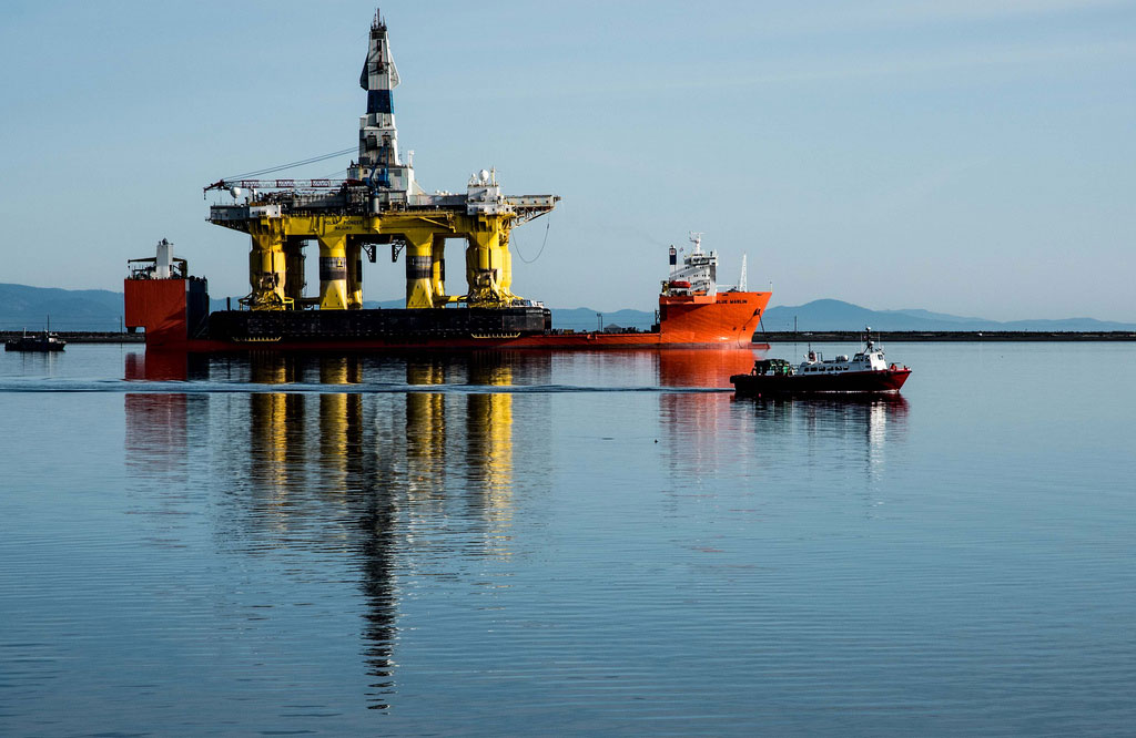 Seattle Becomes Shell's Arctic Base