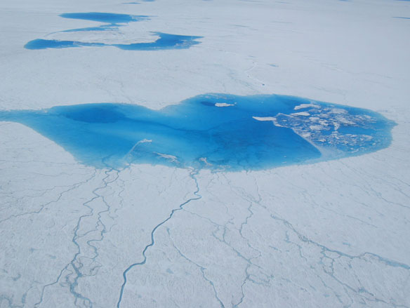 Sudden Draining of Glacial Lakes Explained