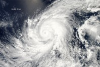 Hurricane Blanca Heading Towards Mexico's Beaches