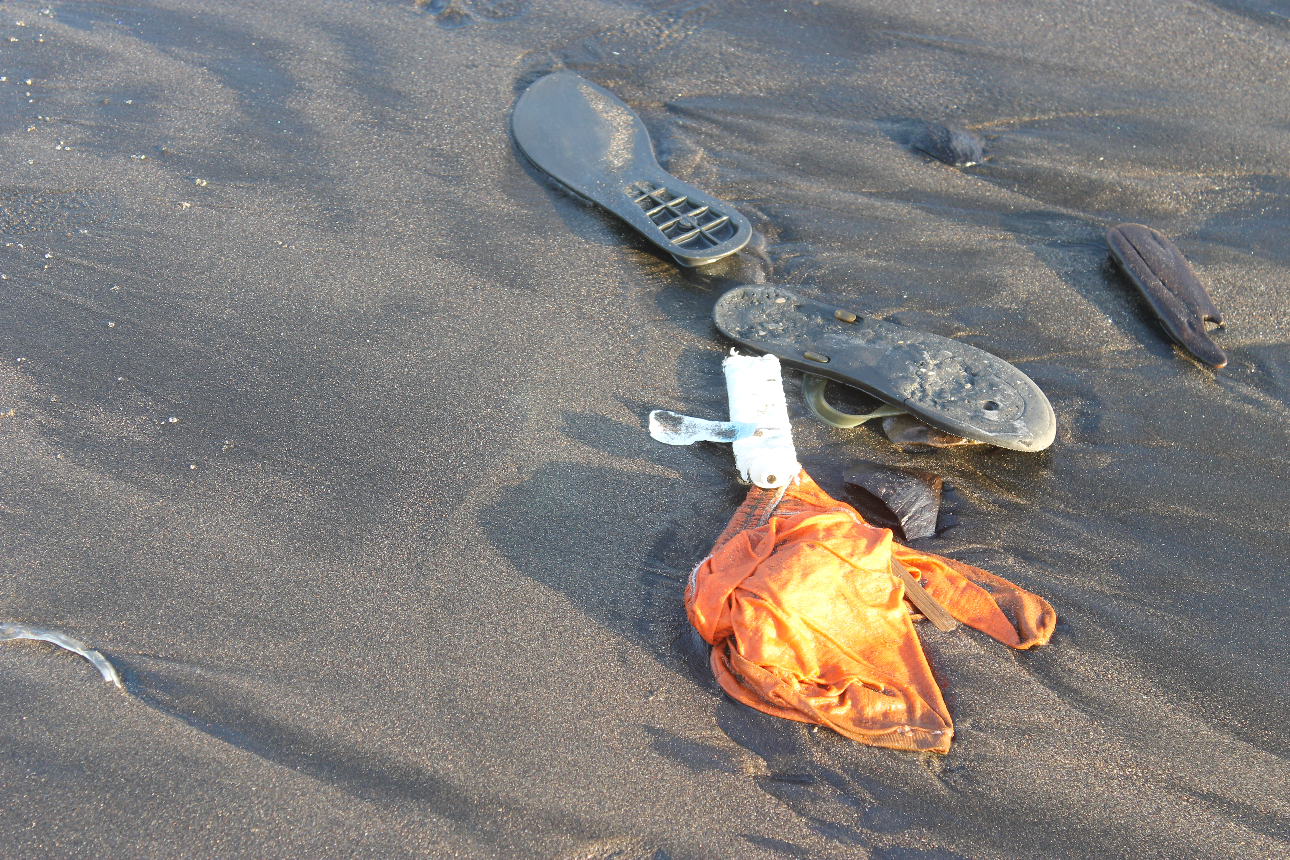 Ocean Junk : A Sad Litany of the Prosaic and the Strange