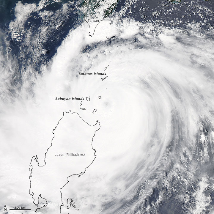 Typhoon Goni Brushes the Philippines; Atsani to Skirt Japanese Islands
