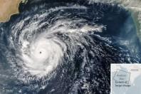 Rare Cyclone Heads for Arabia