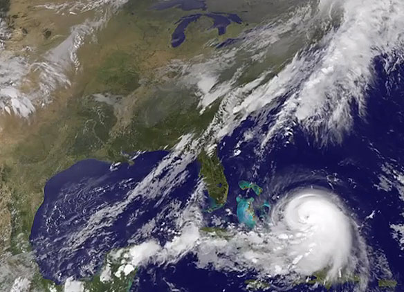 Joaquin Strengthens to Category 4, Batters Bahamas