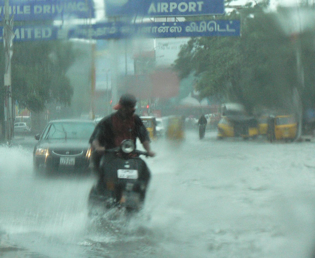 Chennai floods are not a natural disaster, Tamil Nadu, India