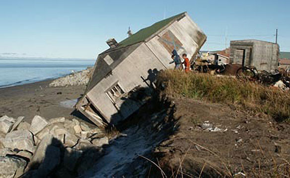 Climate change prompts Shishmaref, Alaska, to vote for mainland ...