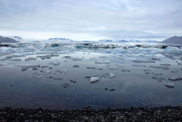 Jökulsárlón Glacier Lagoon, Southeast Iceland; By Brock Hesselsweet
