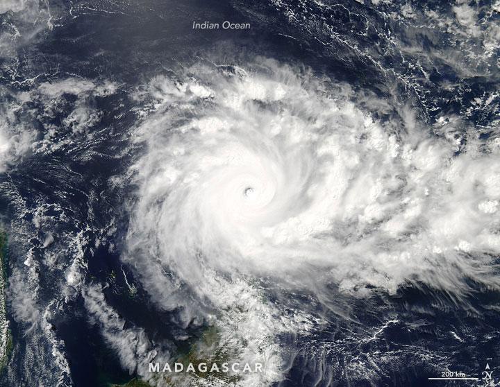 Cyclone Fantala, Indian Ocean