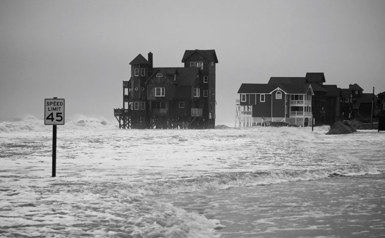 In NC, dangerous delays and delusions on sea-level rise;  Op Ed by Orrin H. Pilkey & Keith C. Pilkey