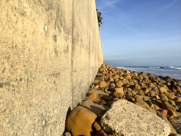 As California beaches reopen, seawall construction becomes legislative battleground