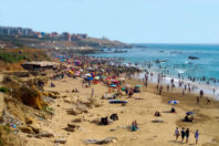 Why are beaches disappearing in Morocco?