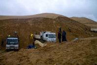 A public company attempts to improve the sand market, Algeria
