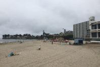 Sinking Santa Cruz: climate change threatens famed California beach town