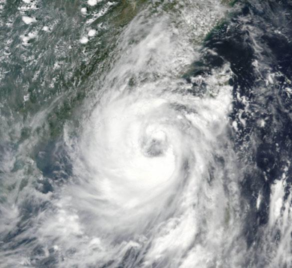 Typhoon Nida Makes Landfall Near Hong Kong After Making a Direct Hit on Philippines