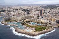 Land reclamation plan endangers protected marine area; Malta