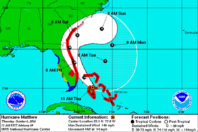 Matthew strengthens to Category 4 hurricane