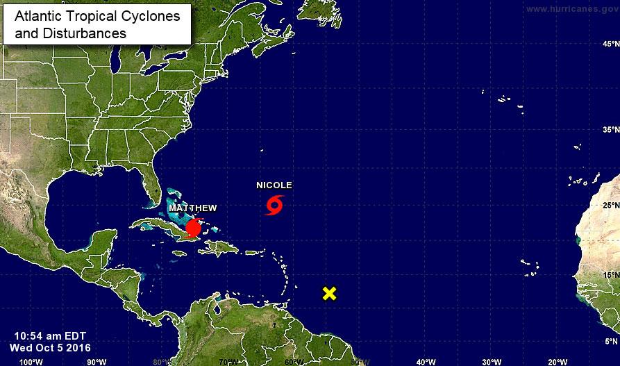Hurricane Matthew Continues Destructive Path Toward US, Killing 11 in Caribbean