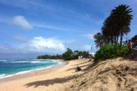 Erosion creates dangerous cliff conditions on Oahu's North Shore