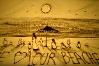 """Sand art """"Beautiful Morocco,"""" by Kseniya Simonov"""