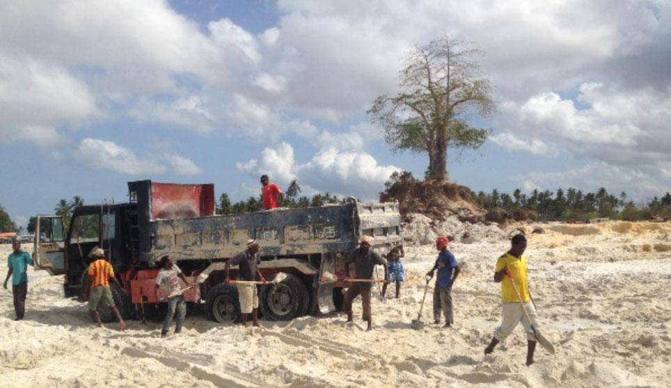 An Assessment of the Impact of Sand Mining: Unguja, Zanzibar, Tanzania
