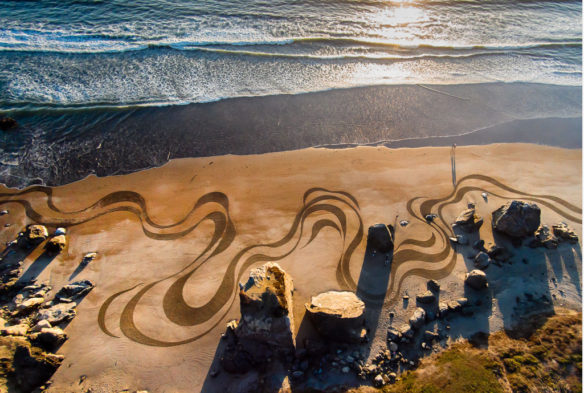 """Flow II,"" Stinson Beach; By Andres Amador"