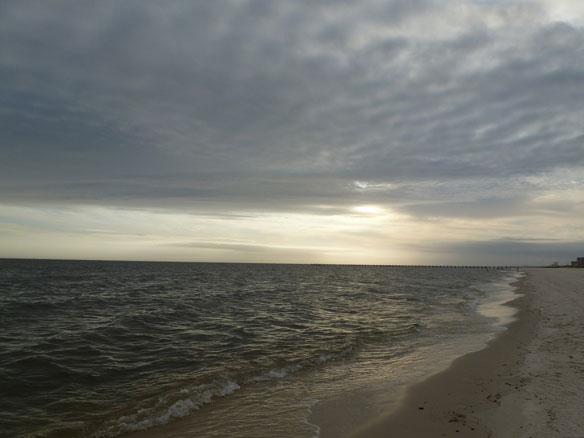 Walk the beach of uncommon history, treasures