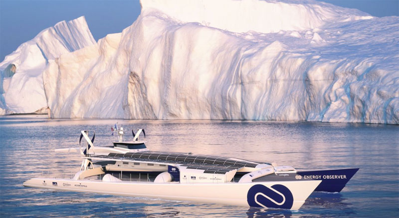 World's first green-energy boat prepares for a six-year voyage around the world
