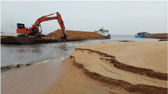 Sand mining ban lifted on beach in Suriname, causing public backlash