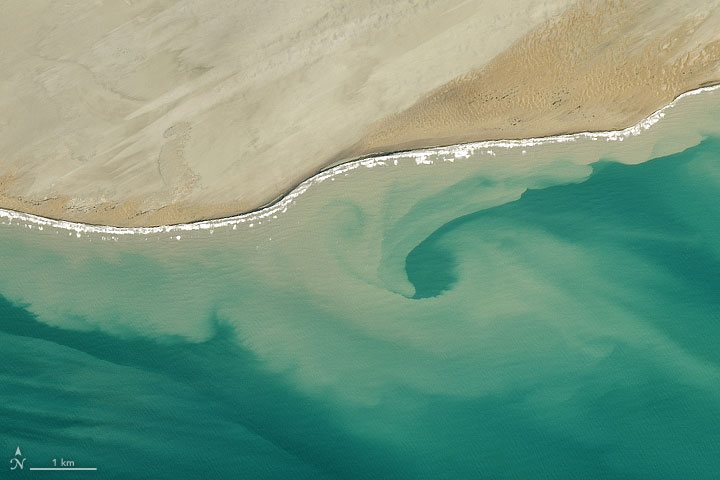 When the Land Stains the Sea