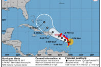 Hurricane Maria strengthens to Category 4 hours before landfall