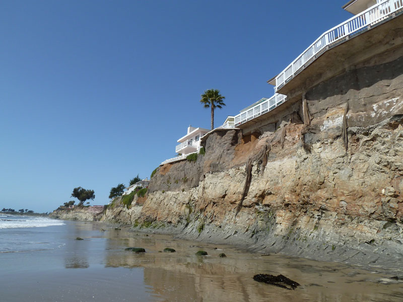 Sea Level Rise Could Double Erosion Rates of Southern California Coastal Cliffs