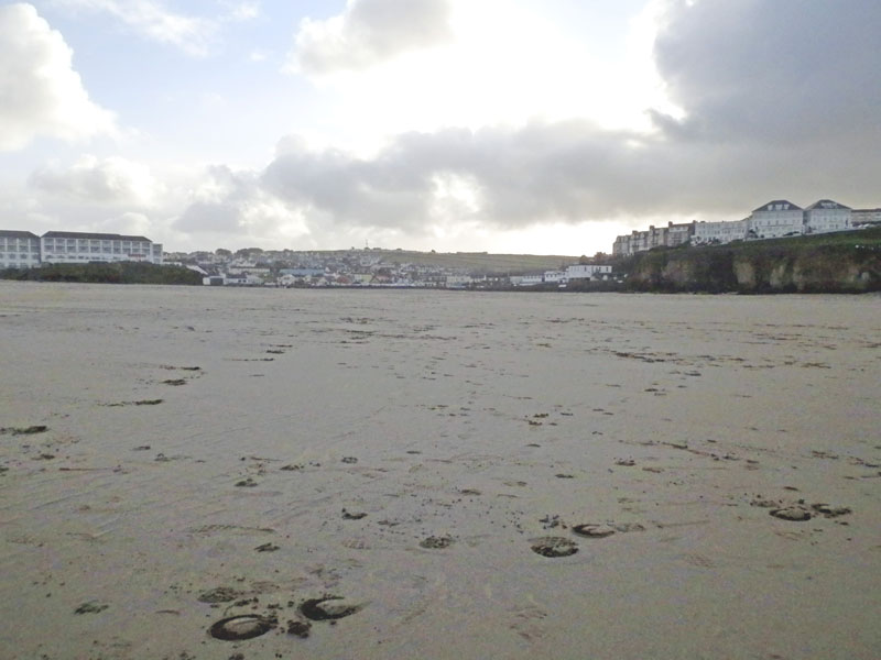 Shifting sands: Storm Eleanor changes shape of Cornwall beaches