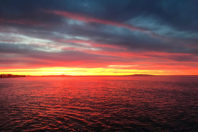 Sunrise, Malibu; By Santa Aguila Foundation