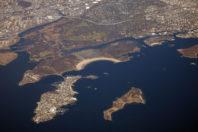 Erosion at New York's Hart Island graveyard unearths human bones