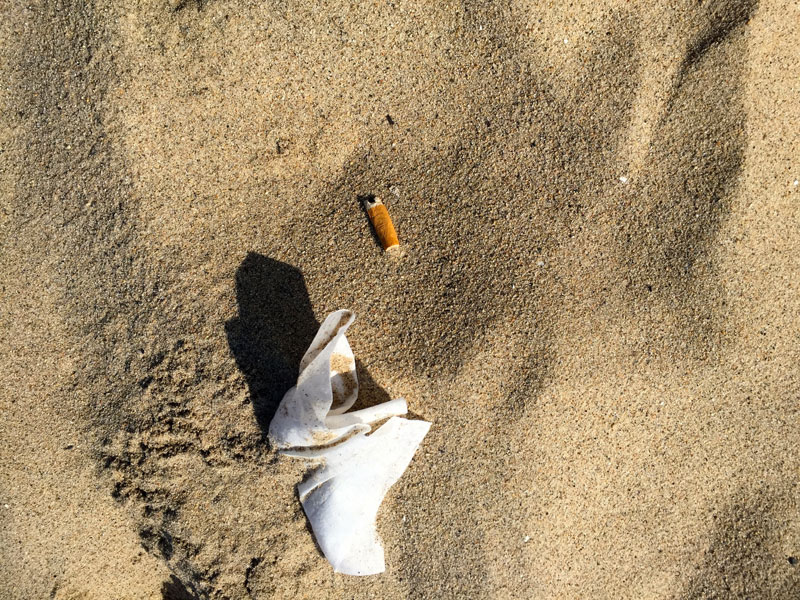 Plastic straw ban? Cigarette butts are the single greatest source of ocean trash