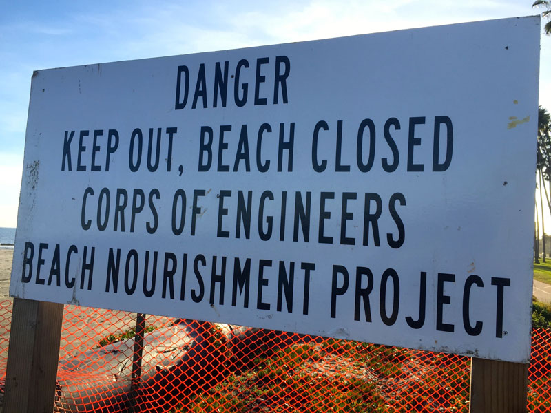 Sand re-nourishment could be culprit for beach-related accidents
