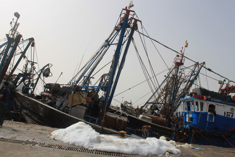 How China's Expanding Fishing Fleet Is Depleting the World's Oceans