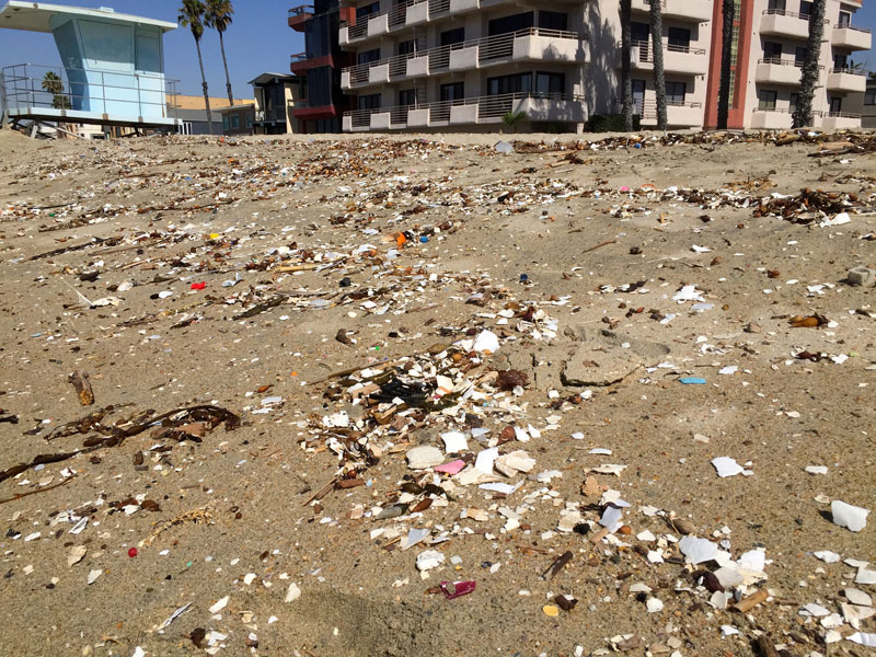 From paradise to landfill: beloved California beach covered in trash