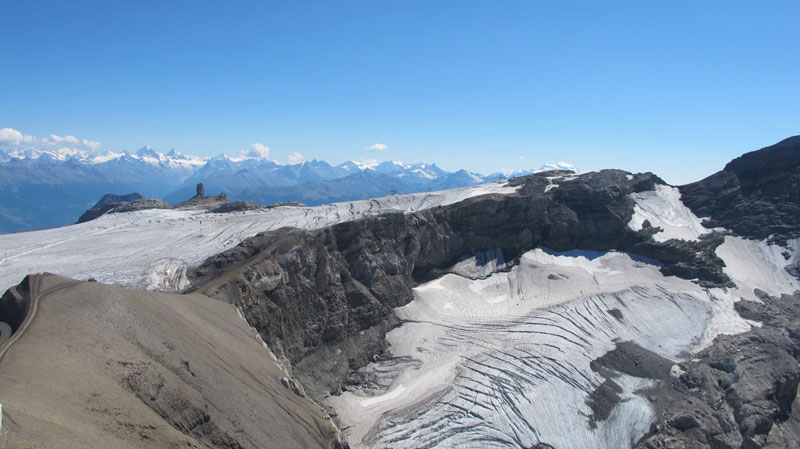 "Italy calls fast-melting glacier in Mont Blanc range ""an alarm"" that can't be ignored"