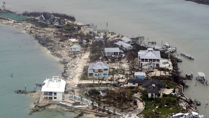 Hurricane Dorian: 'We're at the frontline of climate change but we don't cause it', says Barbados PM – as it happened