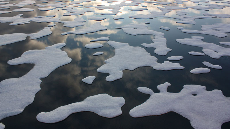 Arctic ice melt is changing ocean currents