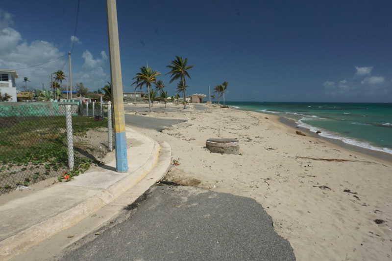 In the Afro-Caribbean heart of Puerto Rico, locals fight erosion