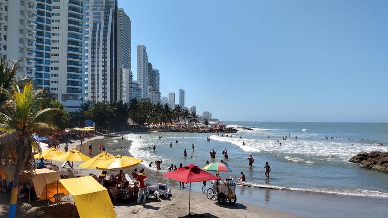 The Impressive changes of Cartagena's bay